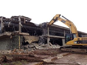 Demolition of a 1 million sq. ft. plant that manufactured landing gear for Boeing, Lockheed, and the NASA space shuttles.